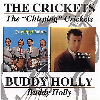 Buddy Holly - Buddy Holly/Chirping Crickets [CD] USA import