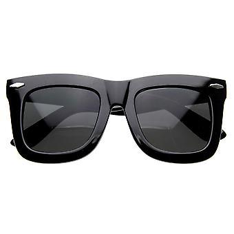 NY знаменитости дизайнер вдохновил толстые женские большие рога оправе солнцезащитных очков