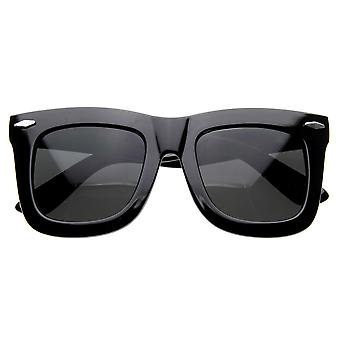 NY Celebrity Designer Inspired Womens Thick Large Horn Rimmed Sunglasses
