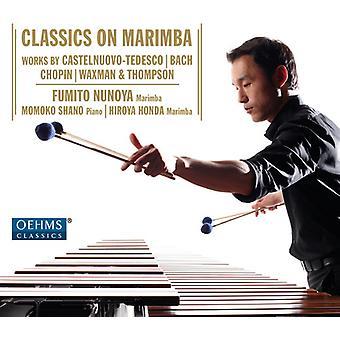 Bach, J.S. / Nunoya / Honda / Shano - Classics on Marimba [CD] USA import