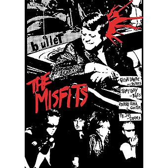 Misfits Bullet Bullet In The Head Poster Poster Print
