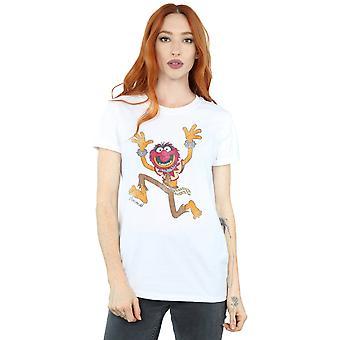Disney Frauen die Muppets Classic tierischen Freund Fit T-Shirt