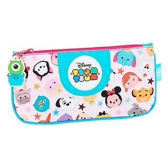 Disney Kinder/Mädchen offizielle Tsum Tsum flache Federmäppchen