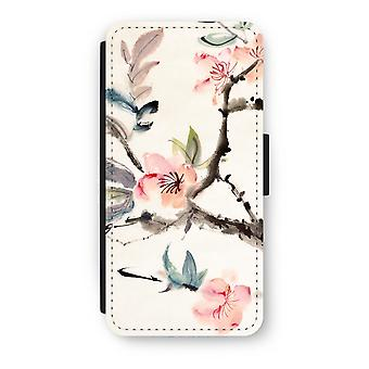 iPhone 8 Flip Case - Japenese flowers
