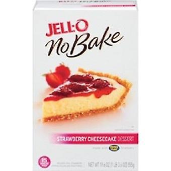 Jell-O No Bake Strawberry Cheesecake