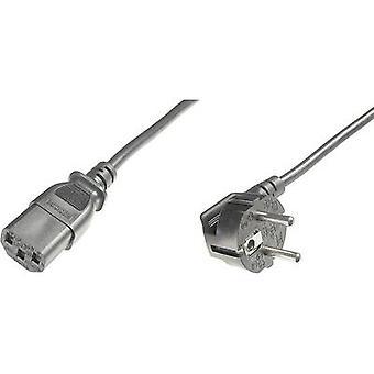 Aparatos de digitus C13/C14 Cable [1 x PG enchufe - 1 zócalo de x IEC C13] 1,80 m negro