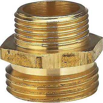 GARDENA 7263-20 Brass Reducer nipple 33.25mm (1) OT, 26.44 mm (3/4) OT