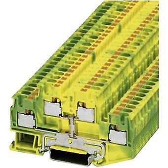 Phoenix Contact 3211854 PTTB 4-PE verde-amarelo