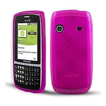Technocel Slider Skin Case for Samsung M580 Replenish - Pink