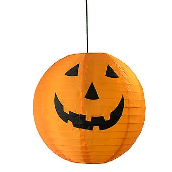 TRIXES LED Light String of 6 Pumpkin Jack O Lanterns - Warm White - Fairy Lights Halloween Decoration
