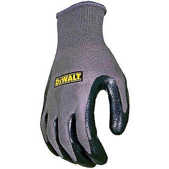 Dewalt メンズ DeWalt ニトリル保護通気性グリップ手袋