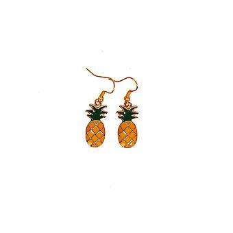Bijoux et couronnes de boucles d'oreilles ananas