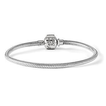 925 Sterling Silber Reflexionen Scharnier Verschluss Perle Halskette Schmuck Geschenke für Frauen - Länge: 16 bis 19