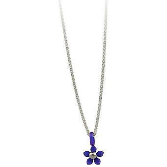 Ti2 titanio cinco pequeños pétalos flor colgante - púrpura Imperial