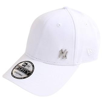 Neue Ära 9FORTY einwandfreie New York Yankees Cap - weiß