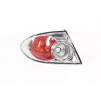 Venstre Tail LAMP (Chrome Saloon & hatchback) til Mazda 6 hatchback 2002-2005