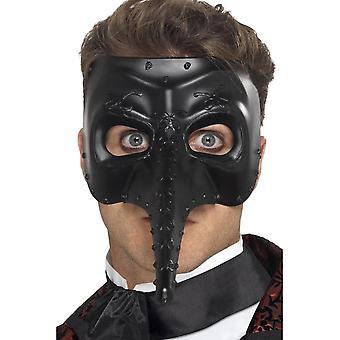 Smiffy's venetsialainen Gothic Capitano naamio,