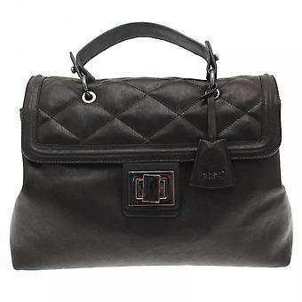 Abro Monogramme Quilted Padlock Handbag