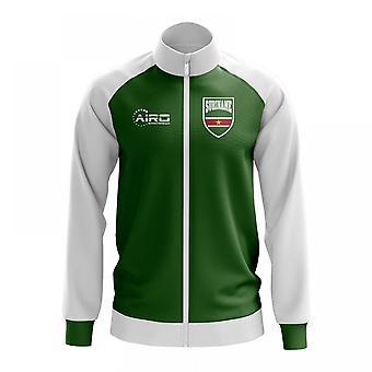 Suriname käsite jalkapallo Track Jacket (vihreä)