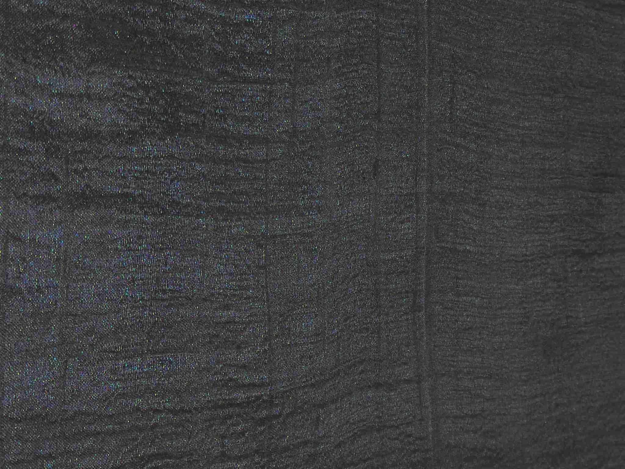 Pure Raw Silk Long Scarf Saigon Lua Van Weave Black by Pashmina & Silk