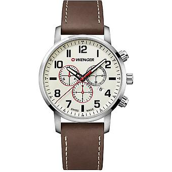Wenger mens watch houding Chrono 01.1543.105