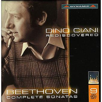 L.V. Beethoven - Dino Ciani Rediscovered: Beethoven's Complete Sonatas [CD] USA import