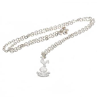 Tottenham Hotspur FC Silver Plated Pendant And Chain