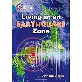 Leben in einem Erdbebengebiet: Band 13/Topaz (Collins Big Cat) (Collins Raubkatze)