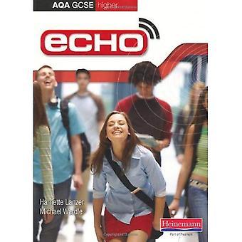 ECHO: AQA GCSE livre allemand d'étudiant supérieur