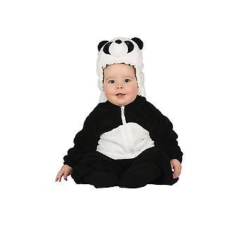 Småbørn sød Panda Fancy kjole kostume