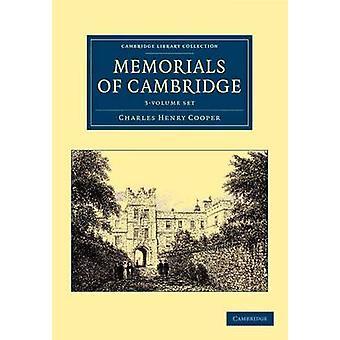 Pomniki Cambridge 3 Tom Zestaw Charles Henry Cooper