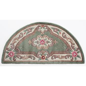 Chinese Moon Rugs - 510 Aubusson Full Cut In Green