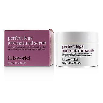 This Works Perfect Legs 100% Natural Scrub - 200g/6.8oz
