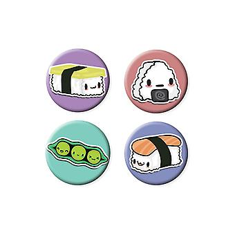 Grindstore Juicy Sushi Badge Pack