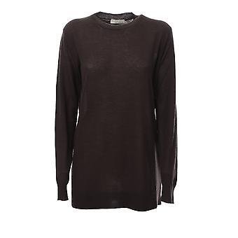 Bottega Veneta 568898va7o08812 Women's Brown Cashmere Sweater