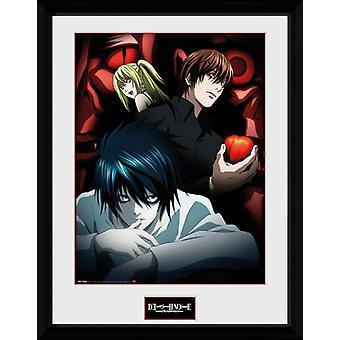 Misa, L et death Note Light encadré Collector impression 40x30cm