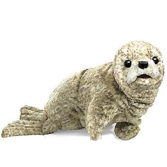 Hand Puppet - Folkmanis - Seal Harbor New Animals Soft Doll Plush Toys 2537