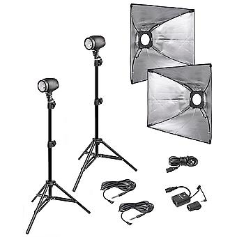 BRESSER P-250 Studio Flash Set No.