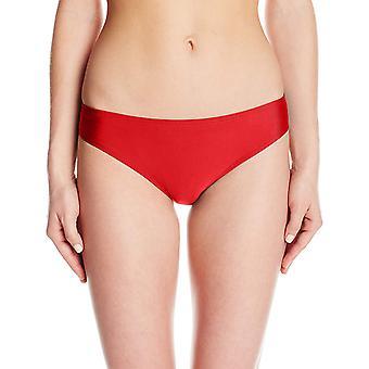 Todas las mujeres americanas's Breve Bikini Bottom, Fireckracker Rojo, Tamaño Grande
