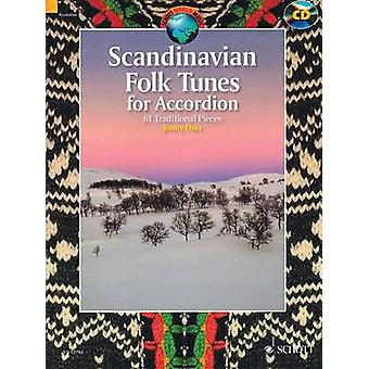 Scandinavian Folk Tunes for Accordion - 61 Traditional Pieces by Hal L