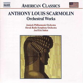A.L. Scarmolin - Anthony Lous Scarmolin: Orchestral Works [CD] USA import