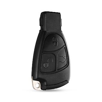 3 Button remote key shell Mercedes Benz + battery holder