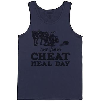 How I Feel On Cheat Meal Day - Mens Vest
