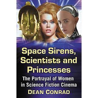 スペースのサイレン - 科学者と王女 - S の女性の描写