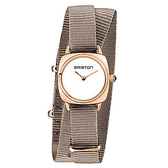 Briston 19924.SPRG.M.2.NT Clubmaster Lady Steel Wristwatch