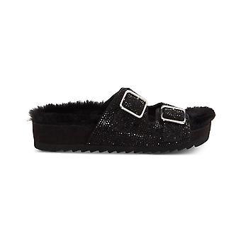 INC International Concepts Womens Alani2 Tissu Open Toe Casual Slide Sandals (en anglais)