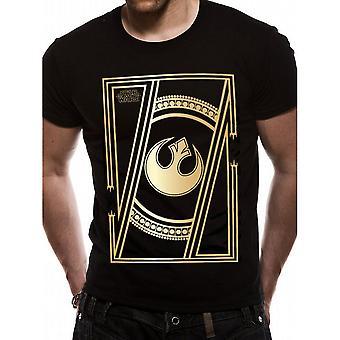 Star Wars voksne unisex voksne Jedi badge design T-shirt