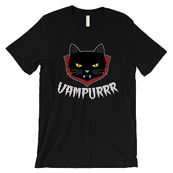 Vampurrr Funny Halloween Costume Cute Graphic Design Mens Black T-Shirt