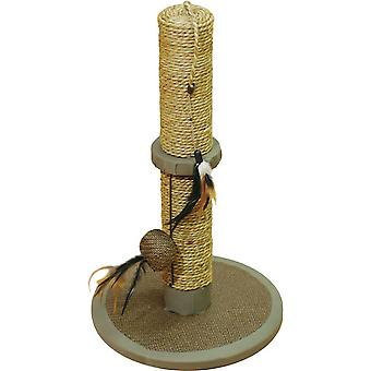 Rosewood Cat Walk Cat Scratcher With Textile Base