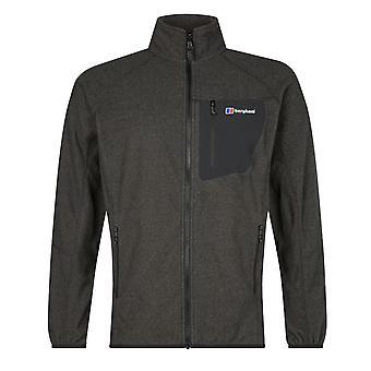 Berghaus Deception 2.0 hombres completo Zip chaqueta chaqueta abrigo carbón